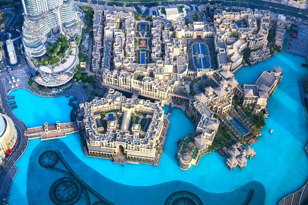 Vue sur Dubai depuis Burj Khalifa